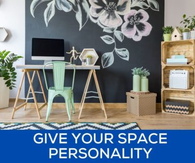 Give Your Space Personality